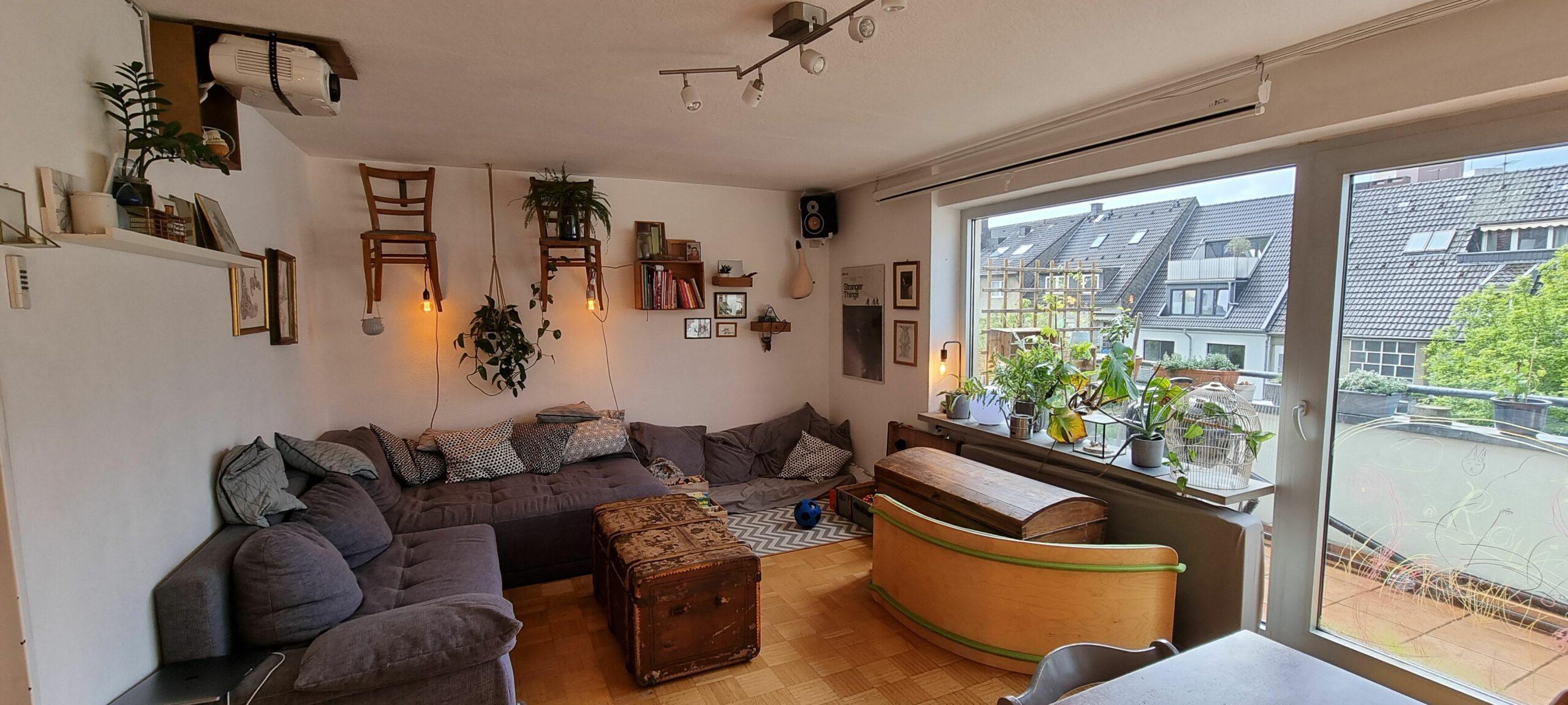 60 qm große 3 Zimmer Mietwohnung zum 15.07 im Pantaleonsviertel frei