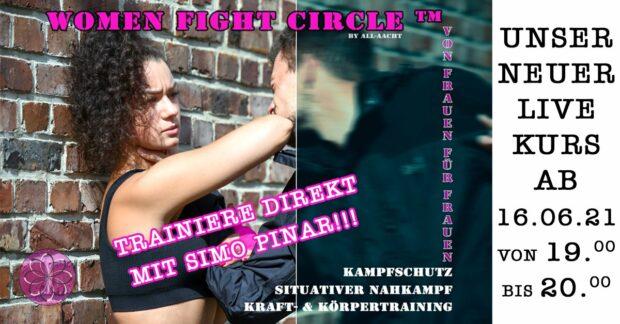 Women Fight Circle_meinesuedstadt