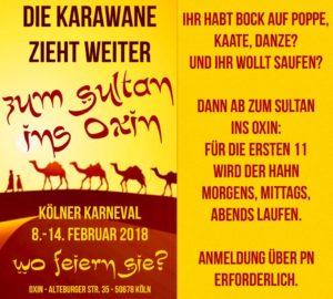 Oxin 2018 Karneval - Meine Südstadt