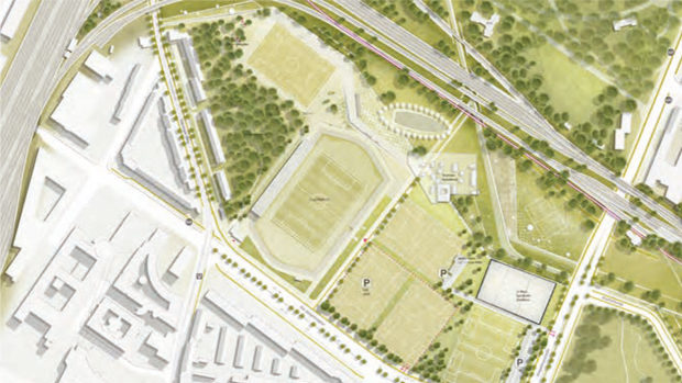 Plangebiet Sportpark Süd - Meinen Südstadt