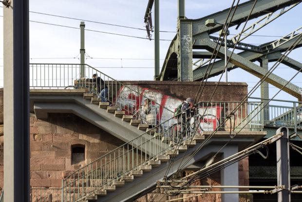 Schandmal des Monats Kölner Südbrücke