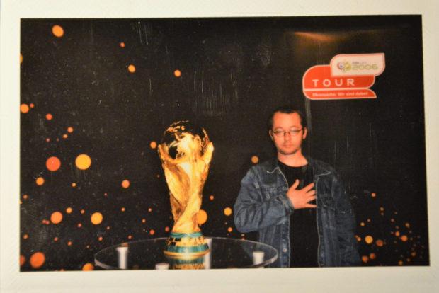 WM-Pokal im Sportmuseum