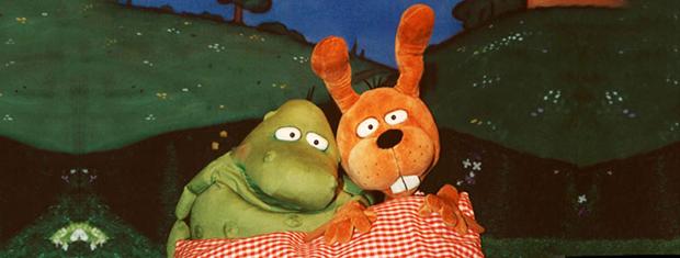 Hase Nulli und Frosch Priesemut