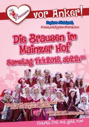 Mainzerhof - Die Brausen im Mainzer Hof