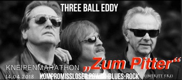 "Three ball Eddy im ""Zum Pitter"""