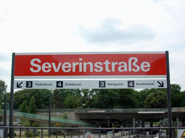 Straßenbahnhaltestelle Severinstraße