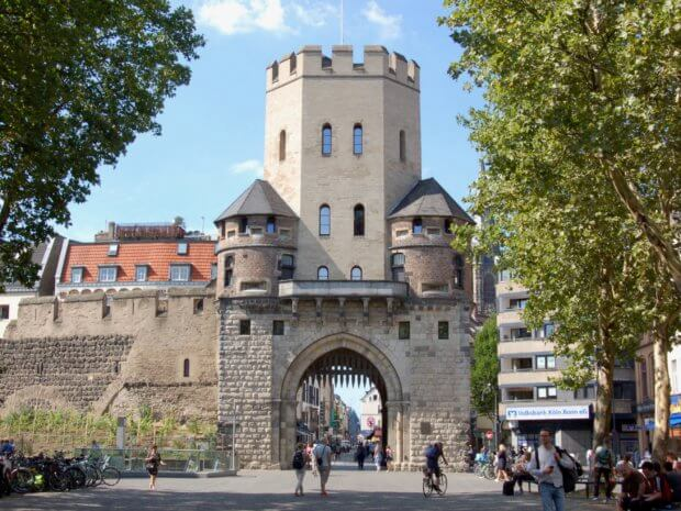 Chlodwigplatz Severinstorburg