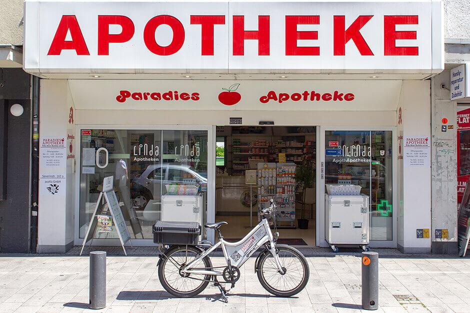 Älteste Apotheke Köln - Paradies Apotheke