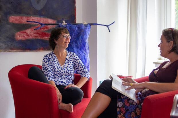 Judith Grümmer im Gespräch