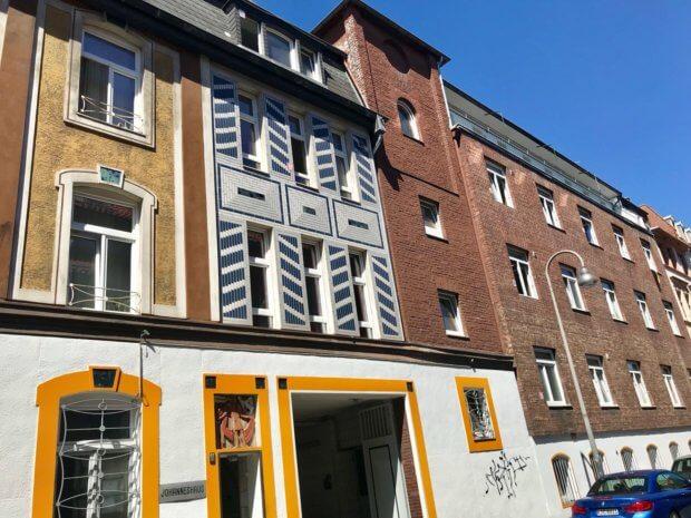 Fassade Johanneshaus, Annostraße