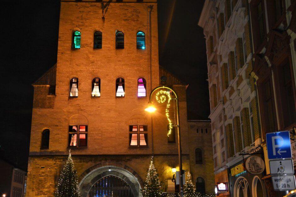 Weihnachtsbeleuchtung Severinstraße