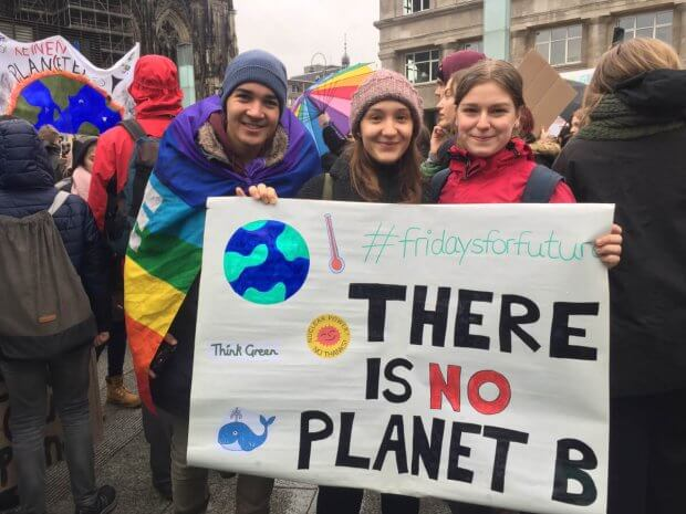fridays4future - There is no planet b