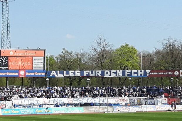 Fortuna Köln gegen Rostock