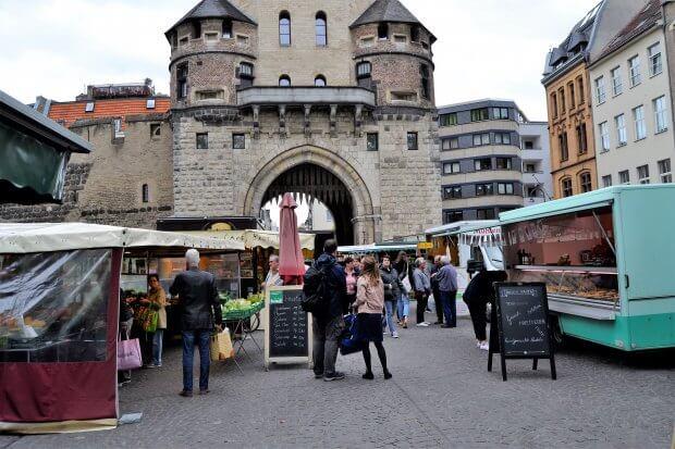 Markt am Severinstor