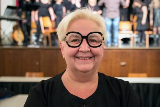 Chorleiterin Ilka Brandt