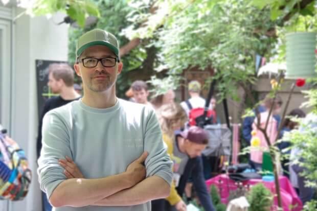 Rene Götz - Gründer der Hofflohmärkte & Gartenflohmärkte