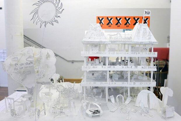 Künstlerinnen des Kat18 entwickelten ein Kunsthaus-Modell