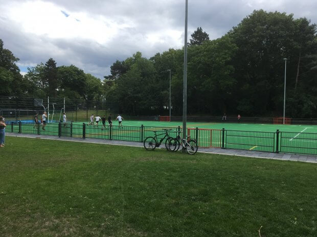 Kuhle, Sportanlage im Friedenspark