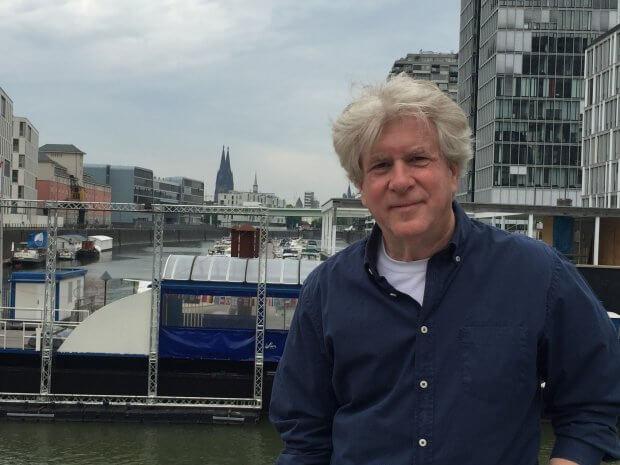 Einer der Sommerkino-Veranstalter: Micki Pick von der Live Music Hall in Ehrenfeld