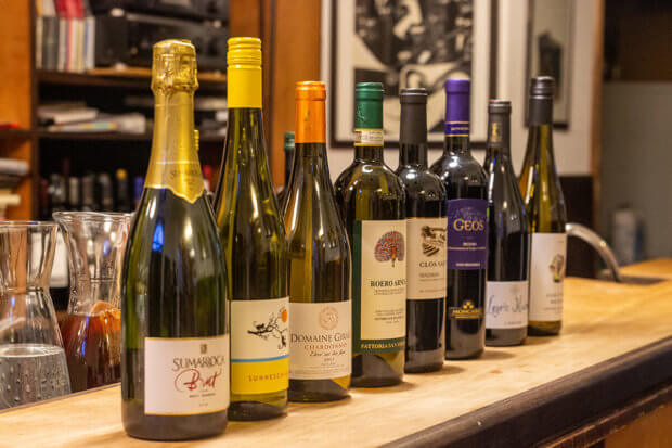 Weinseminar bei Zwölfgrad - Sekt & Wein