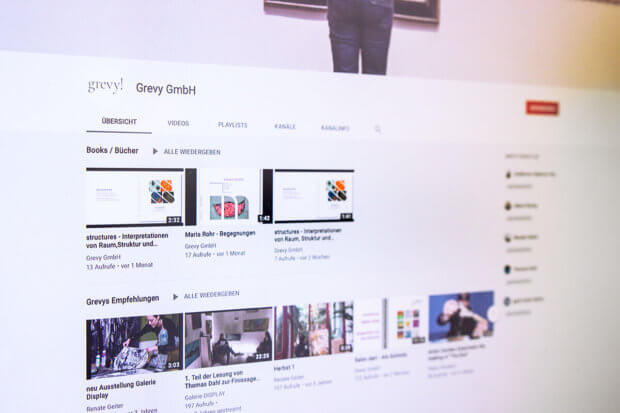 Grevy! auf YouTube